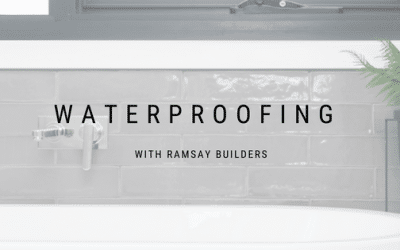 The Importance of Waterproofing