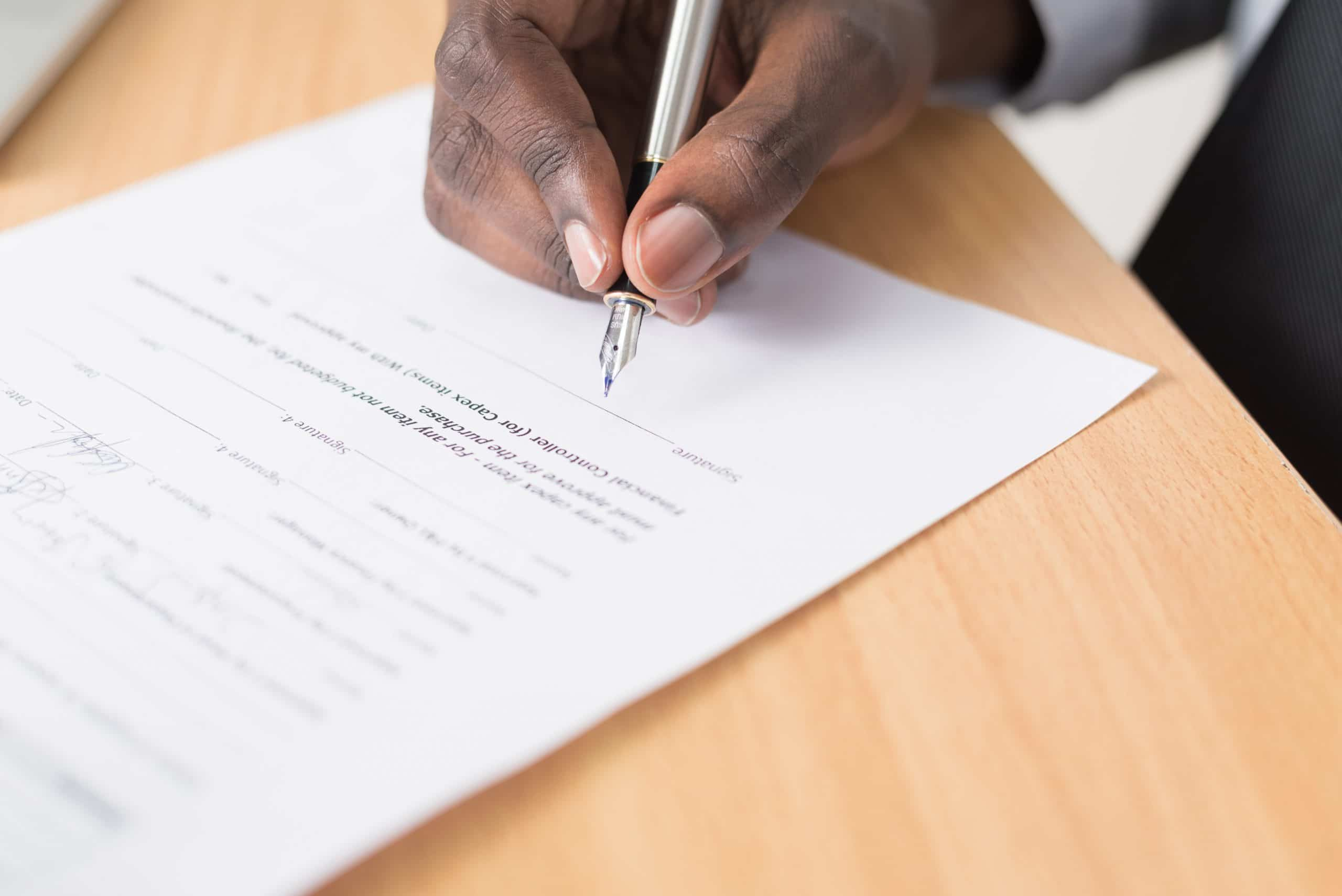 Before You Sign On The Dotted Line