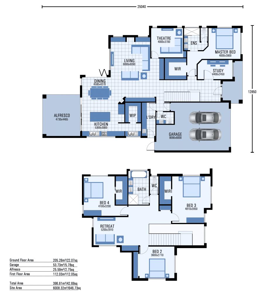 Ashburton floorplan