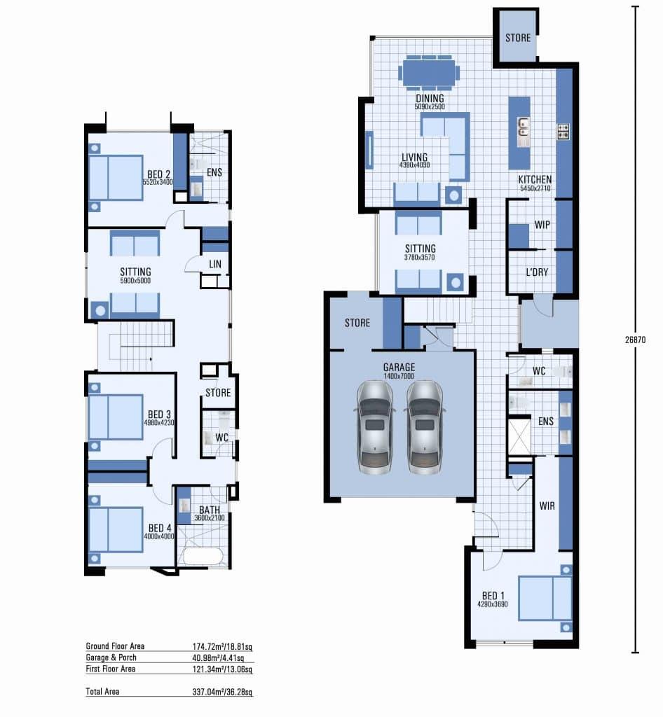 Elsternwick floorplan