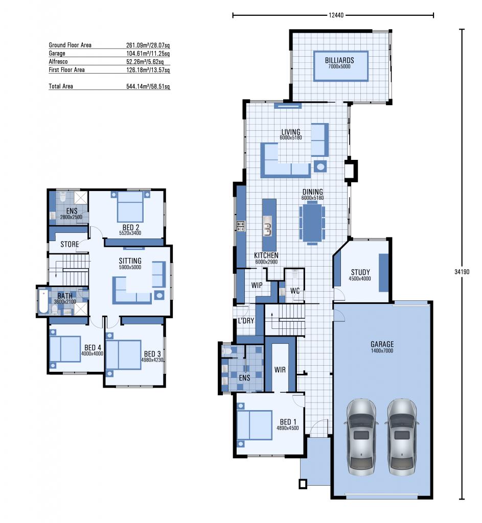 The Athelstan floorplan